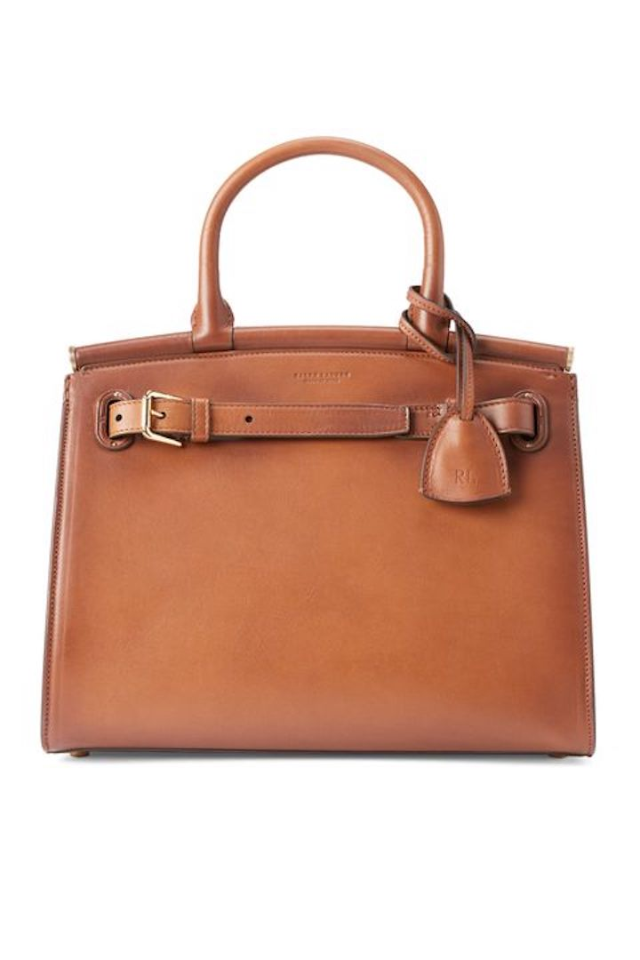 Ralph Lauren, Burnished Medium RL50 Handbag