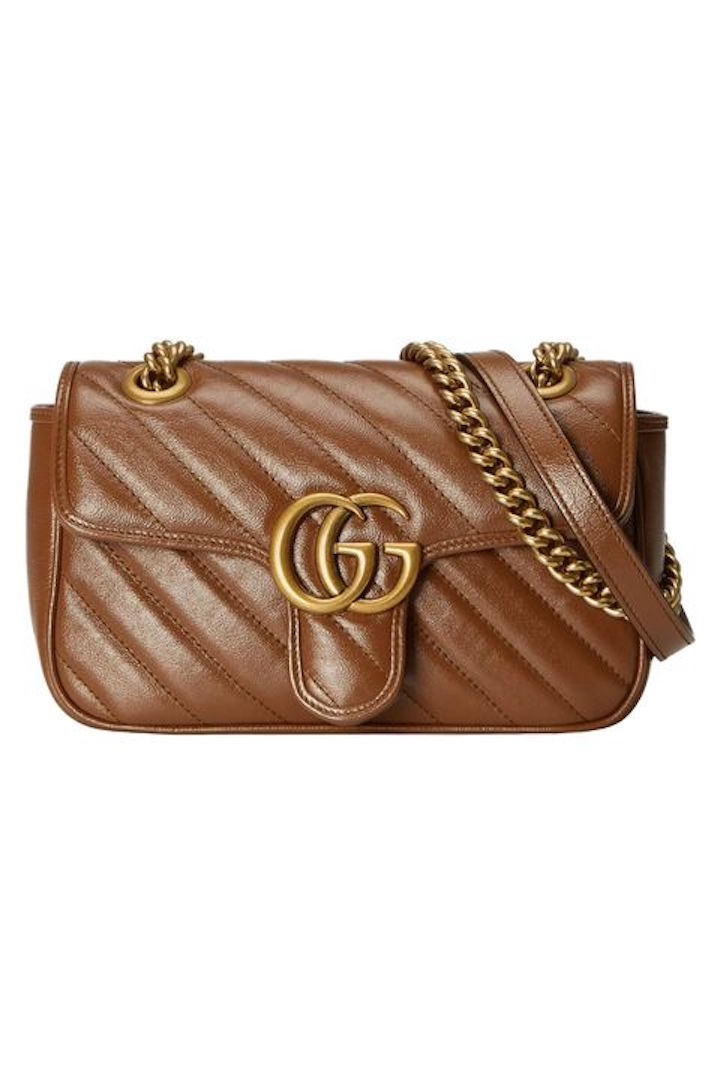Gucci, GG Marmont Mini Matelassé Shoulder Bag