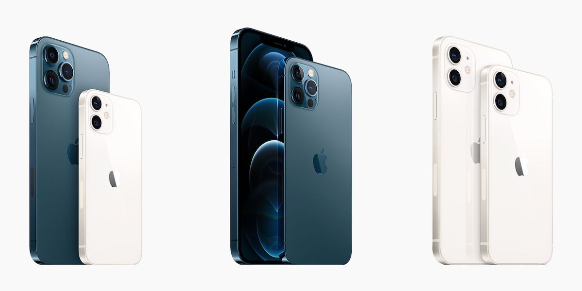 iPhone 12 Pro Max, iPhone 12 Mini