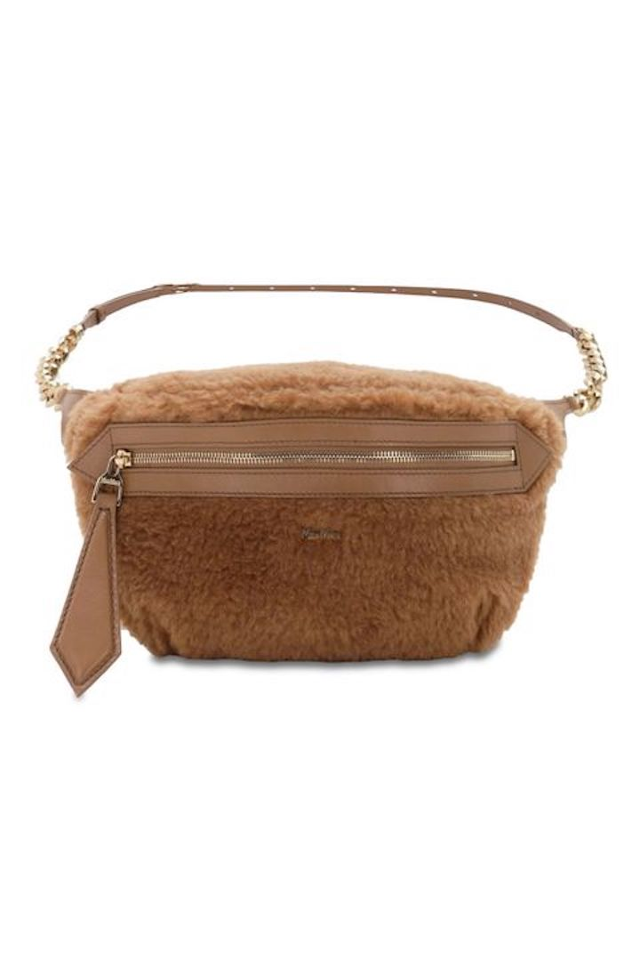 Max Mara, Camel and Silk Belt Bag