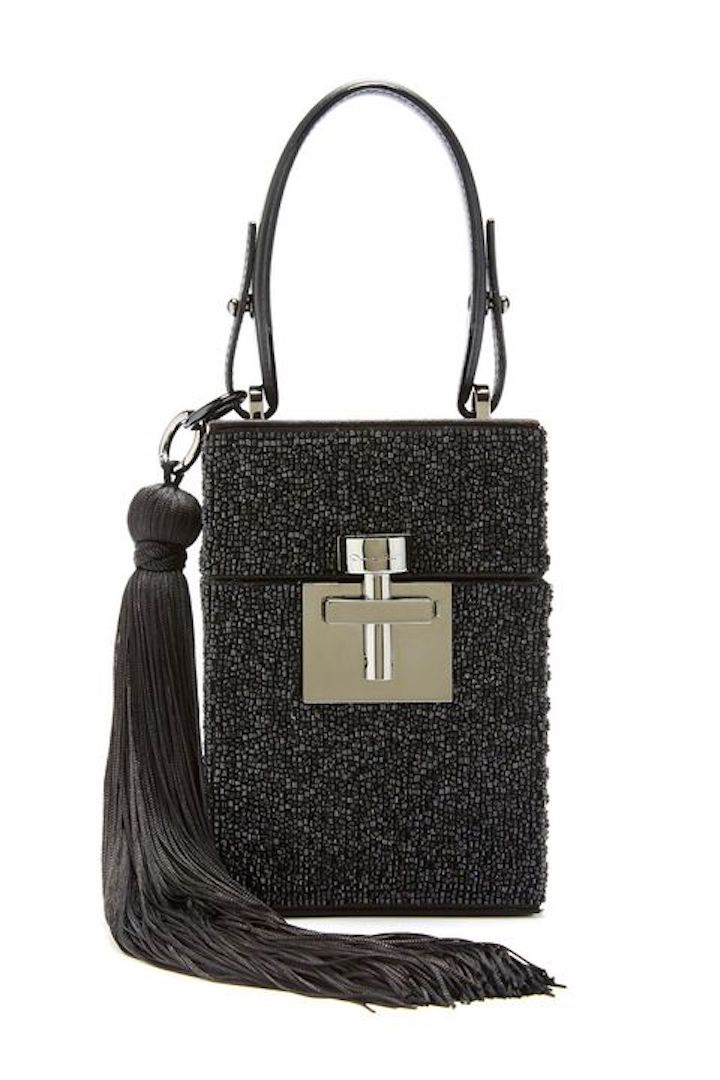 Oscar De La Renta, Beaded Satin Alibi Bag