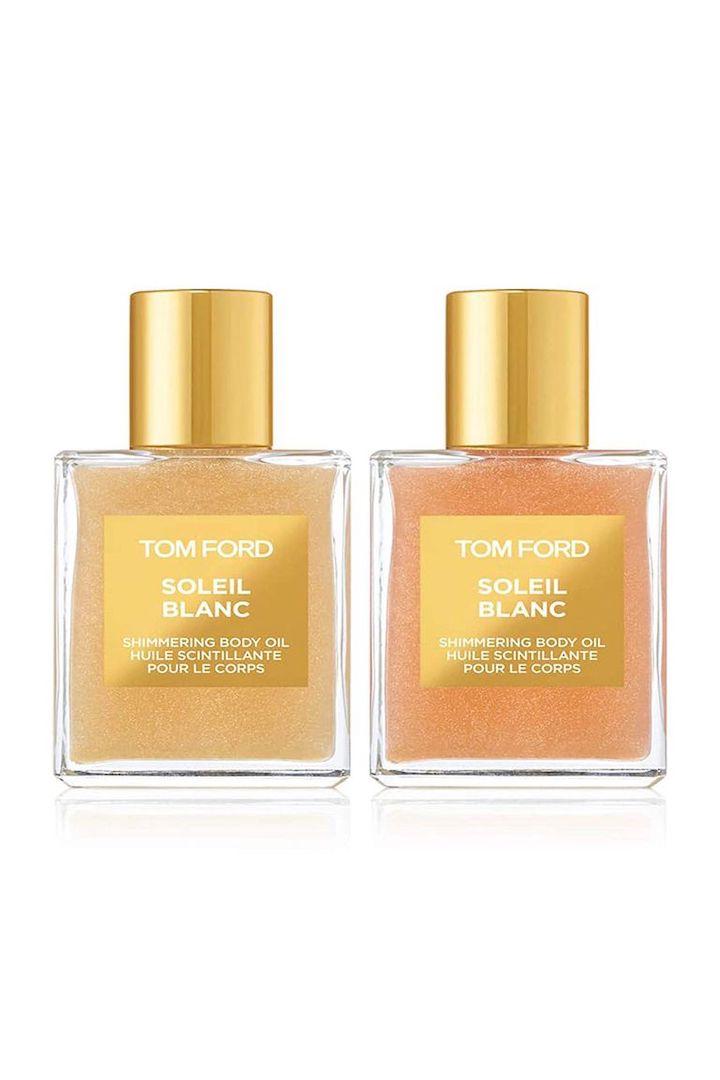 Soleil Blanc Shimmering Body Oil Mini Duo